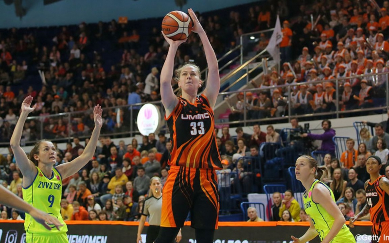 Castors Braine bekampt titelhouder Emma Meesseman in de EuroLeague
