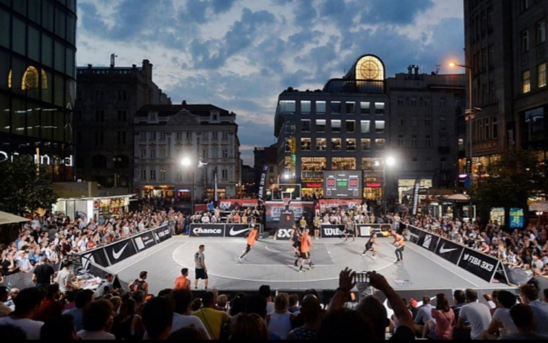 Ticket naar World Tour in Praag is hoofdprijs voor 18+ Elite Men teams op 3X3 Masters