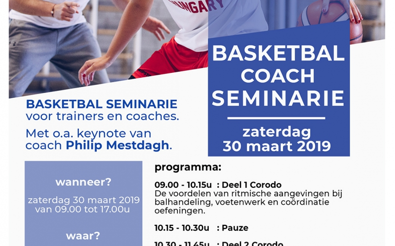 Basketbal Coach Seminarie - Mol