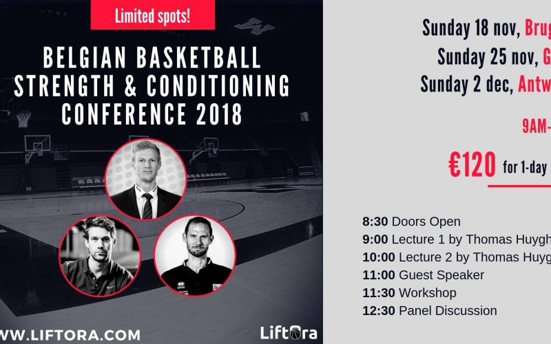 Belgian Basketball Strength & Conditioning Conference 2018