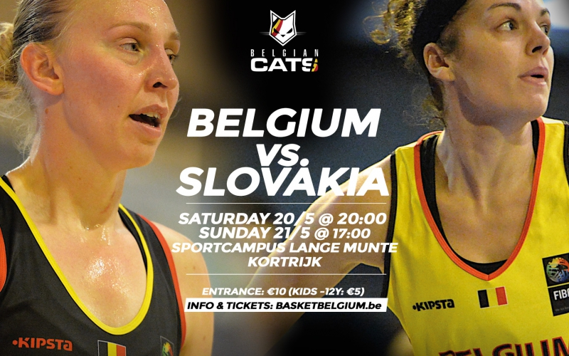 Belgian Cats vs Slovakije