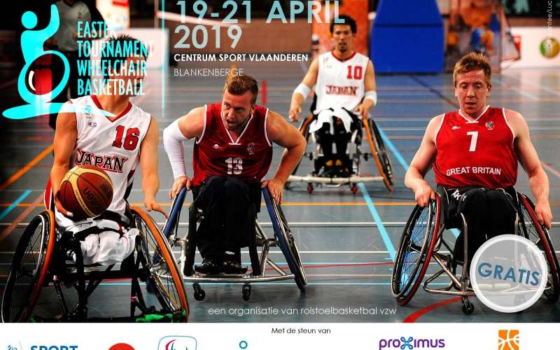 Easter Tournament Wheelchair Basketball - Blankenberge